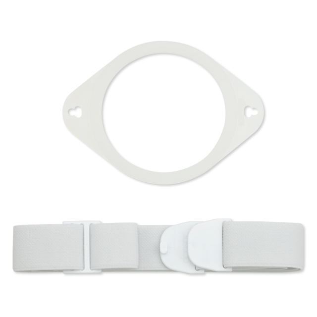 09075 0000 ostomy belt white plate